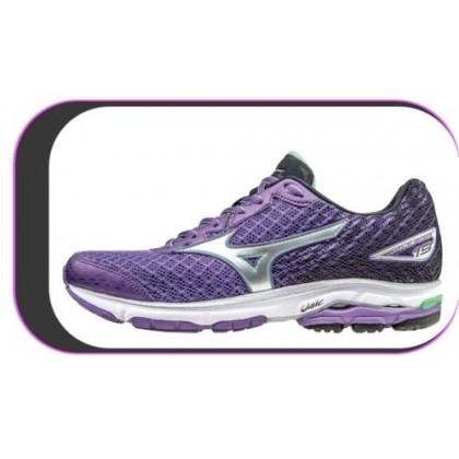 Chaussures De course Running Mizuno Wave Rider 19 Violet