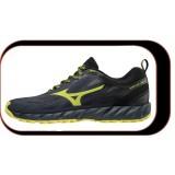 Chaussures De course Running Mizuno Wave IBUKI Homme Noir