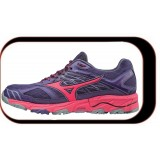 Chaussures De course Running Mizuno Wave Mujin 4 Femme Violet Rose