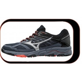Chaussures De Course Running Mizuno Wave Mujin V5  Femme Omb Blue