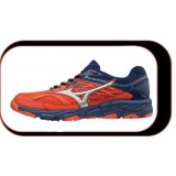 Chaussures De course Running Mizuno Wave Mujin V5 Homme Orange Bleu