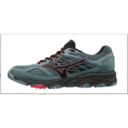 Chaussures De Course Running  Mizuno Wave Mujin v 5 Homme Quanrry/Black