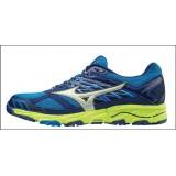 Chaussures De Course Running  Mizuno Wave Mujin...V4 Homme Bleu.