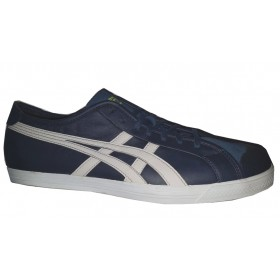 Chaussures Asics Onitsuka Tagger Verte toile et cuir 7361