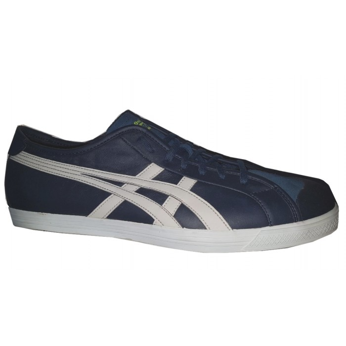 Chaussures Asics Onitsuka Tagger Coolidge Lo Marine Gris, Cuir et Swed