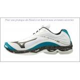 Chaussures Mizuno Wave  De Tennis Wave Lightning Z6 Homme Blc