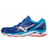 Chaussures De Course Running  Mizuno Wave Inspire 14 Blue Red Homme