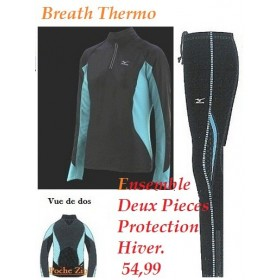 ENSEMBLE BREATH THERMO 2 PIECES DU XS au M