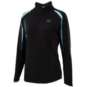 Carline thermal plus Running Technique Zip Turquoise warmer top