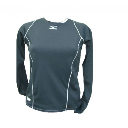 Carline Warmer Top Technique Running Mizuno w Noir Gris du S au L