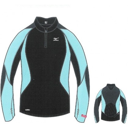 Breath thermo Long Sleeve Combo Shirt Mizuno