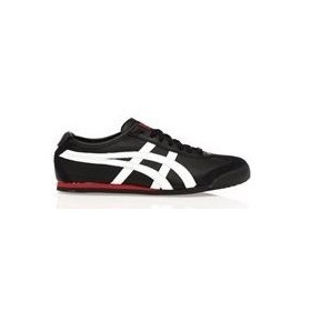 Chaussures Asics Onitsuka Mexico 66 hl7c2:9001 Noir Rouge Women