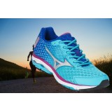 Chaussures Mizuno Wave Rider 18 Women's Blue
