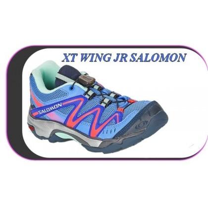 tout neuf e9d21 e1fc3 Chaussures De Course Running Jr Salomon Xt Wings..K