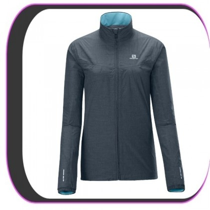 Veste Coupe vent Salomon Jacket Grise Femme Technique