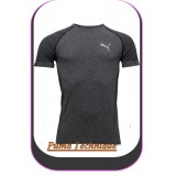 Tee Semiess Heather Technique Puma Gris Homme