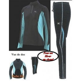 ENSEMBLE BREATH THERMO 4 PIECES DU XS AU L