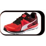 Chaussures De Course Running Puma  Ignite. 600..Rouge Noir