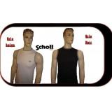 Débardeur coton Schott mixte PACK DE DEUX choisisez vos coloris et tailles du S au XL