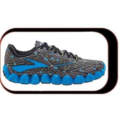 Chaussures De Course Running Brooks Neuro Homme Noir Bleu