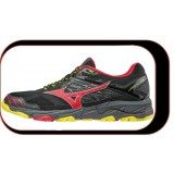 Chaussures De Course Running  Mizuno Wave Mujin ...V4 Homme Gris Rouge