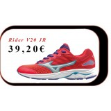Chaussures De Course Running  Mizuno Wave Rider V20 JR